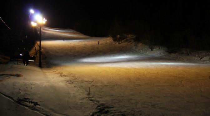 スキー場ナイター照明の現状把握