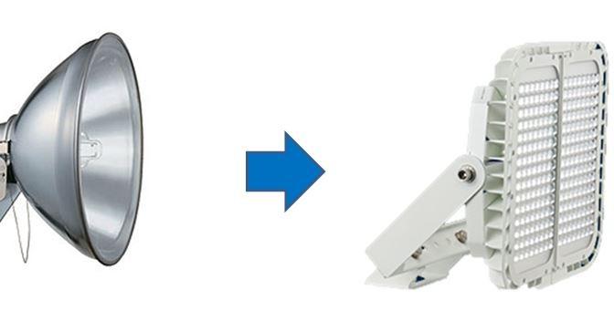 LED照明は何故明るい?
