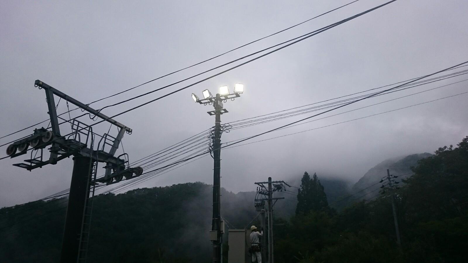 スキー場 LED照明