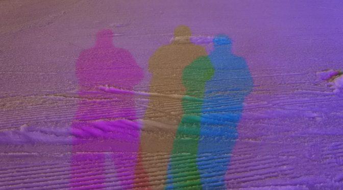 ひかりの影とカラーLED